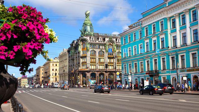 Nevky Prospekt in St. Petersburg