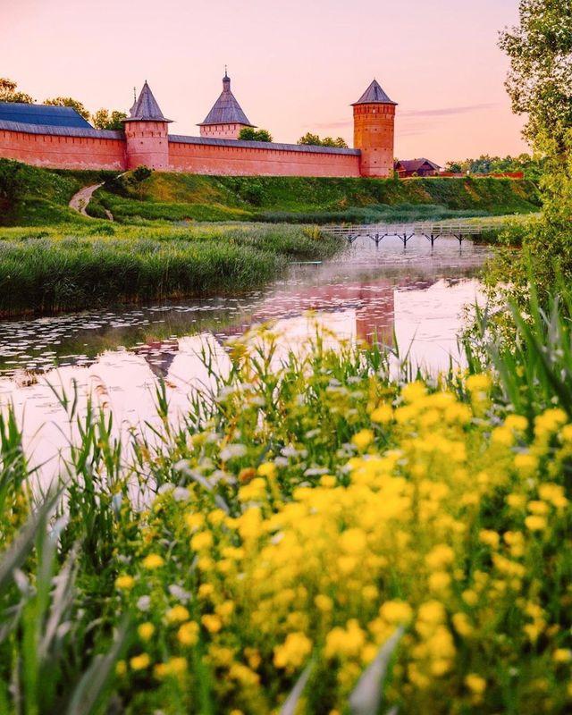 Stadsmuur van Vladimir
