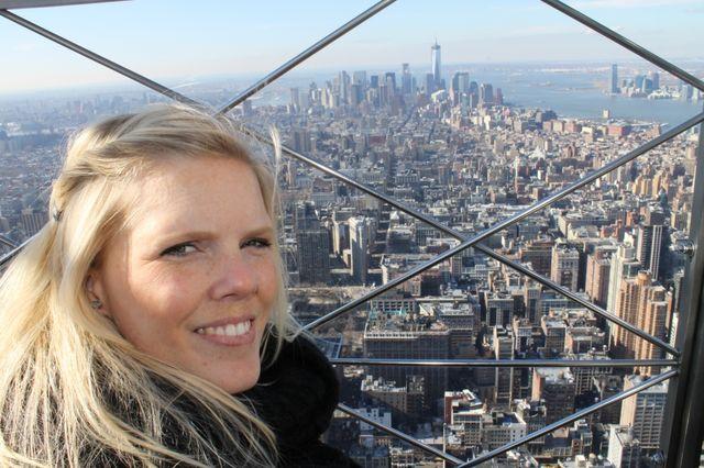 Reisspecialist Inge in New York
