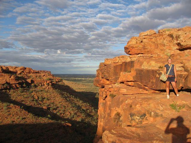Reisspecialist Stéphanie bij Kings Canyon