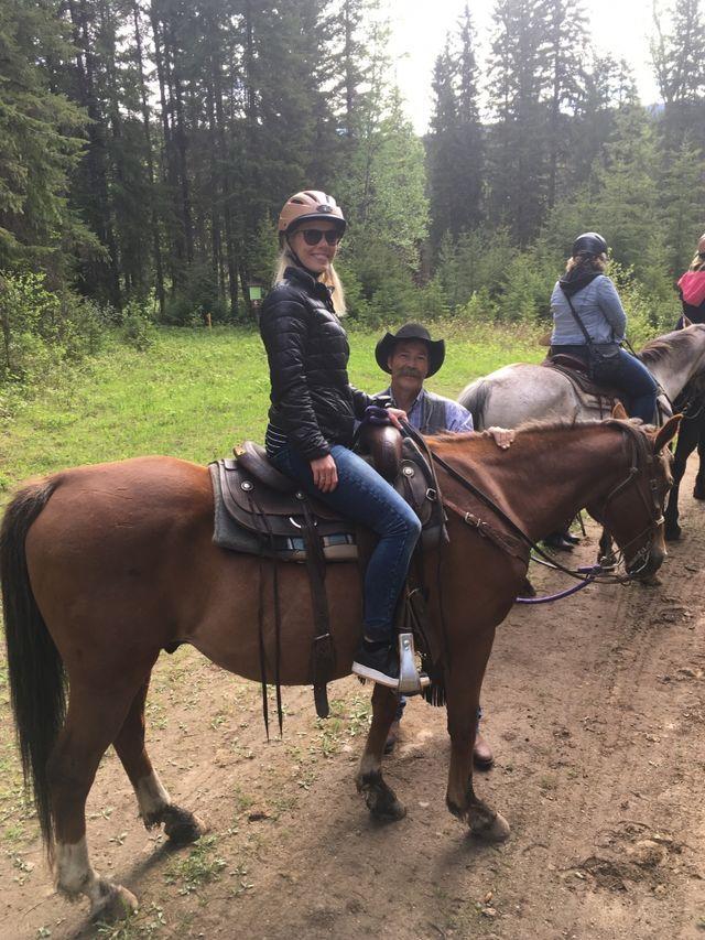 Reisspecialist Inge in Wells Grey Provincial Park