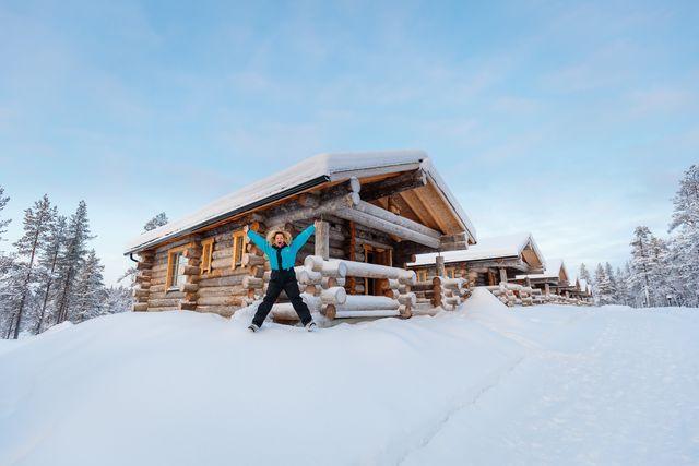 Wilderness Hotel Muotka in Lapland