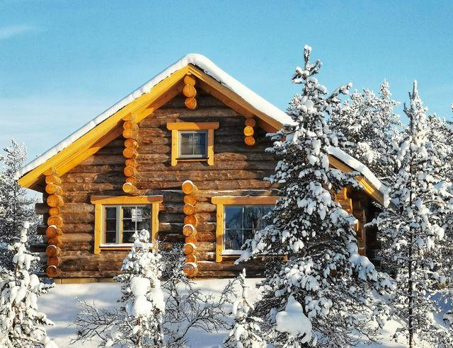 Finland, Lapland, Wilderness Hotel Muotka