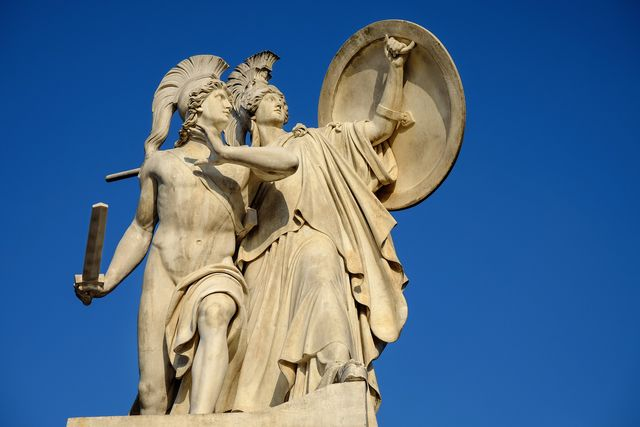 Monument in Athene