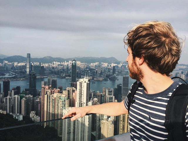 Reisspecialist Jelmer in Hongkong