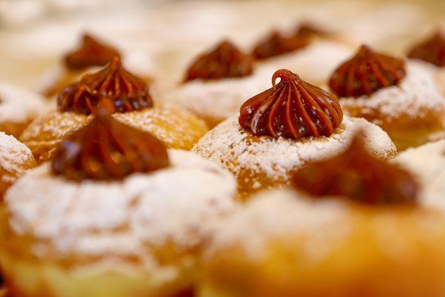 Sufganiyah, een soort Israëlische donut