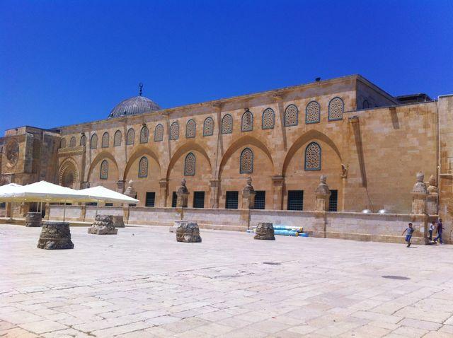 Al-Aqsamoskee in Jeruzalem