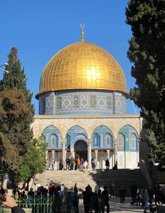 Rotskoepel in Jeruzalem