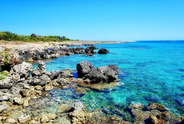 Baia dell'Orte, Otranto