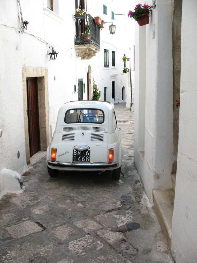 Auto in Ostuni