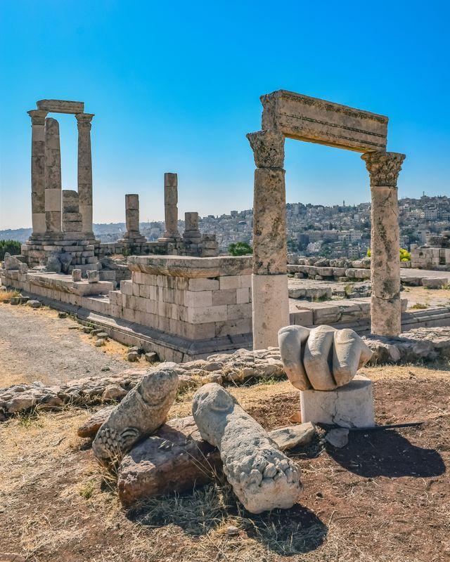 Tempel van Hercules, Amman