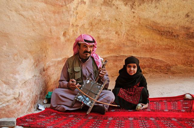 Locals in Jordanië