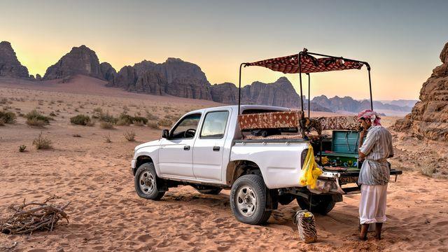 Wadi Rum Woestijn