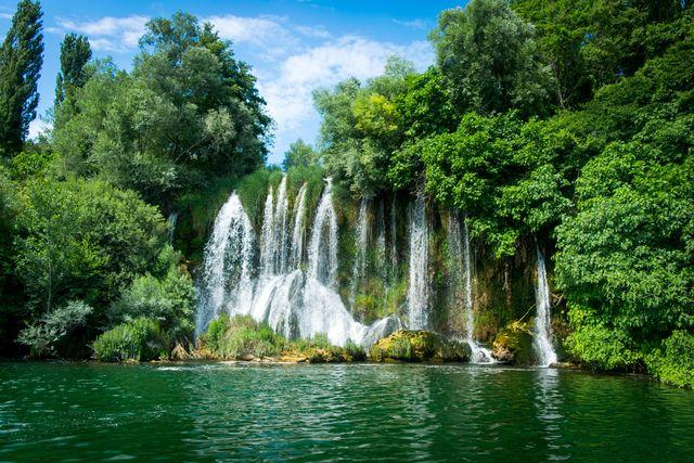 Roski Slap waterval in Krka National Park