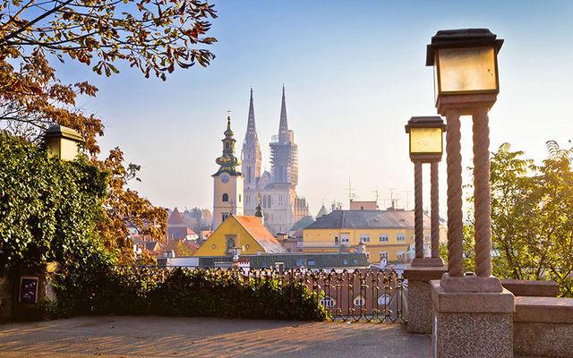 Strossmayer Promenade in Zagreb