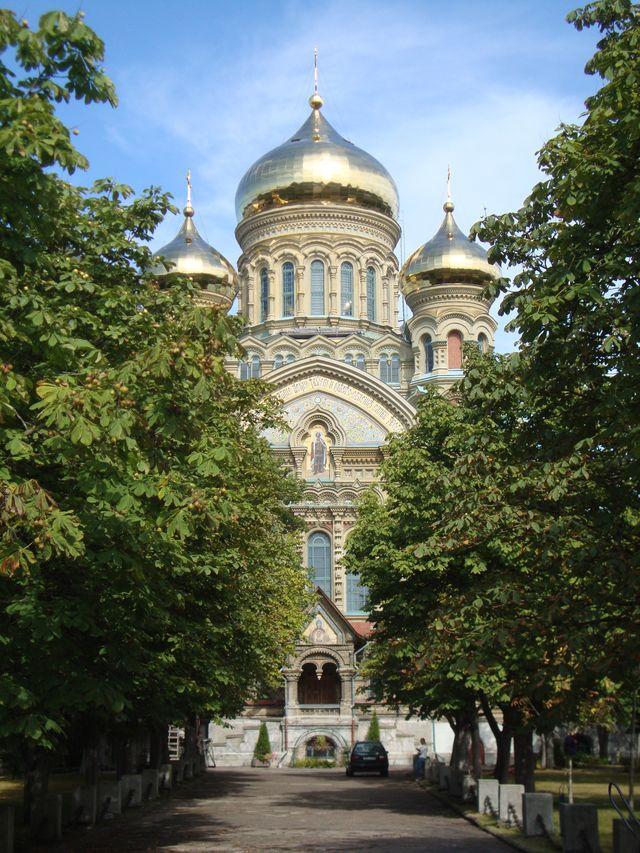 Kathedraal in Karosta