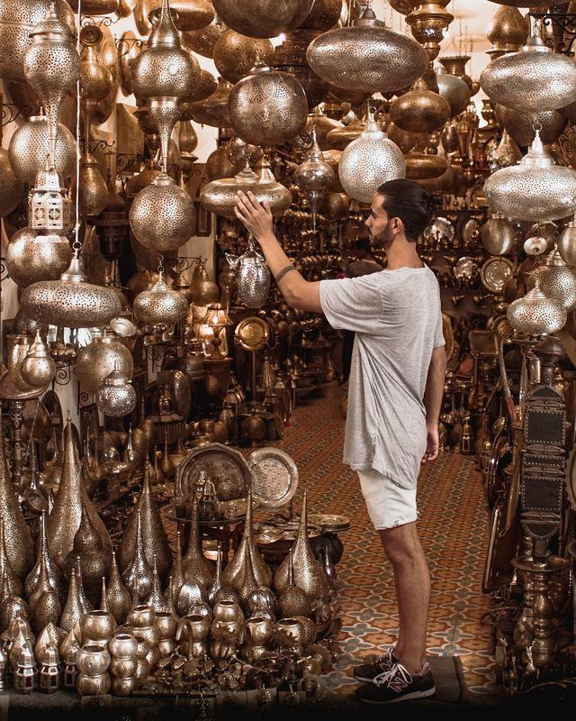 Souk in Marrakech