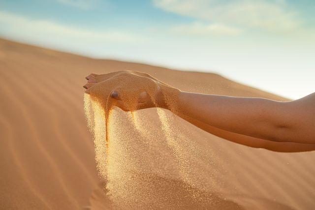 Woestijn bij Merzouga