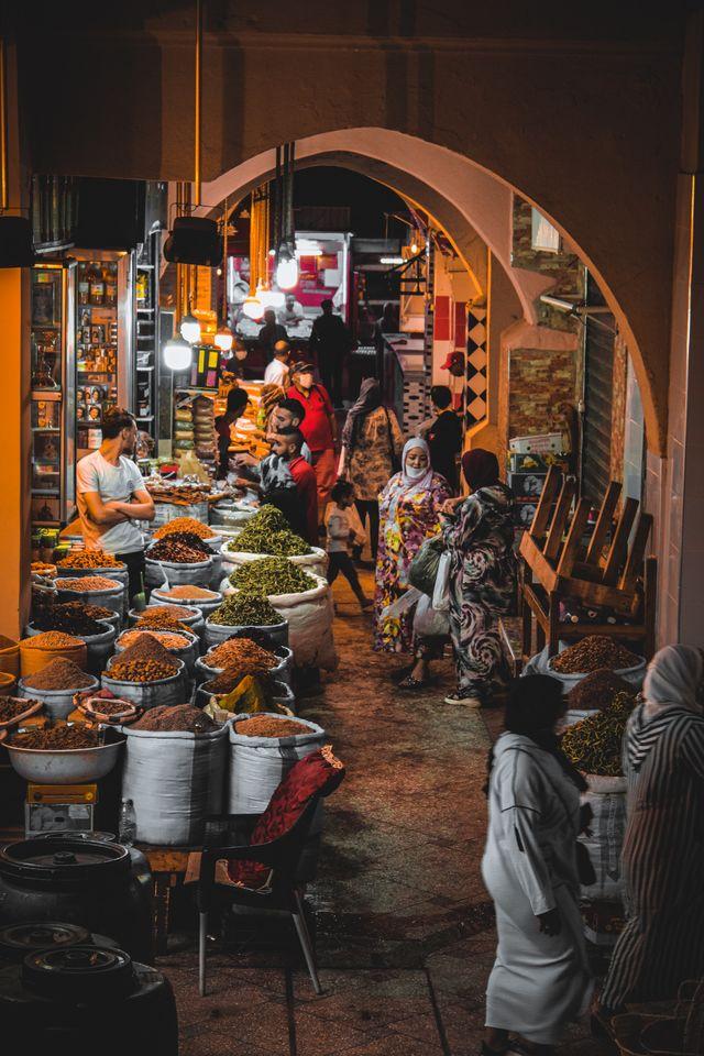 Souk van Meknes