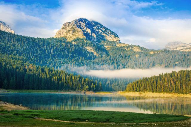 Black Lake in Durmitor National Park