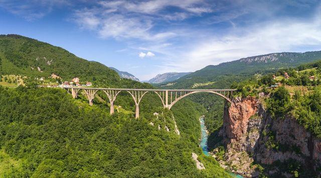 Tara Bridge in Durmitor National Park