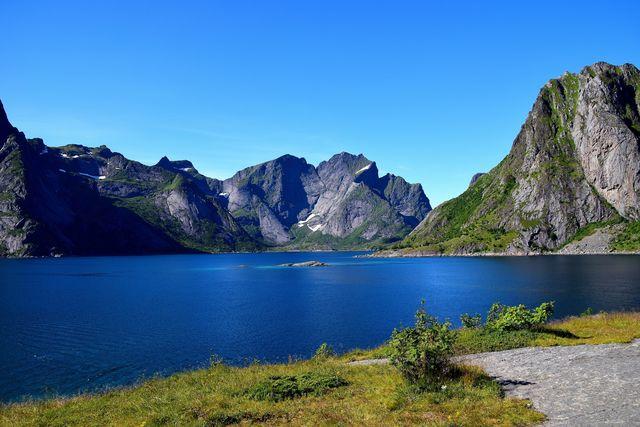Bergen in Svolvaer