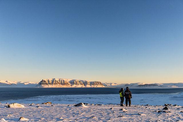 Onderweg naar Elvenest, Spitsbergen