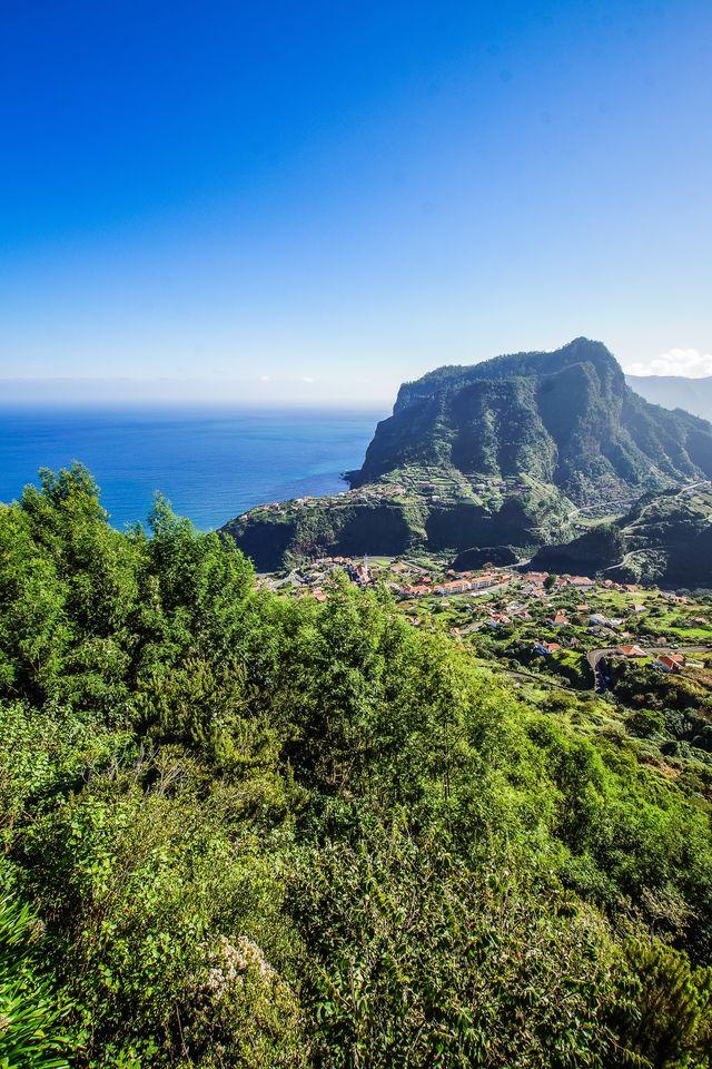 Berg op Madeira