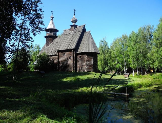 Openluchtmuseum in Kostroma