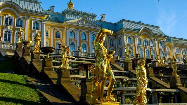 Peterhof in Sint Petersburg