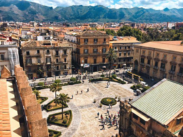 Plein in Palermo