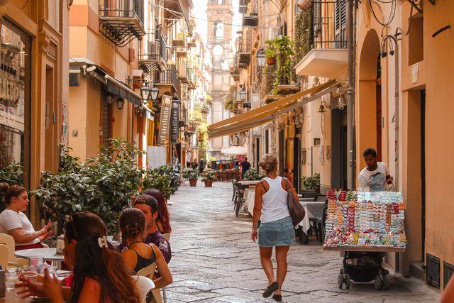 Straten in Palermo