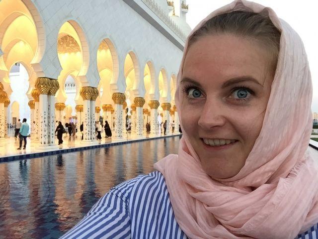Reisspecialist Suzanne in Abu Dhabi