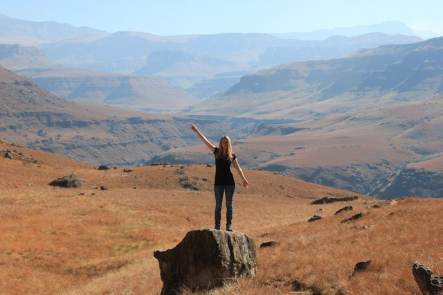 Reisspecialist Lody in de Drakensbergen