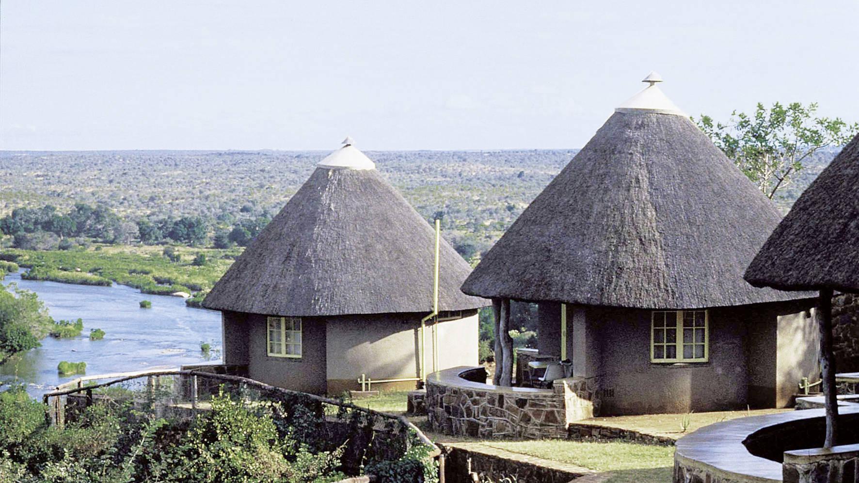 Rest Camp in het Krugerpark