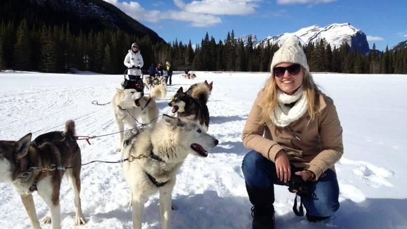 Reisspecialist Stéphanie in Banff National Park