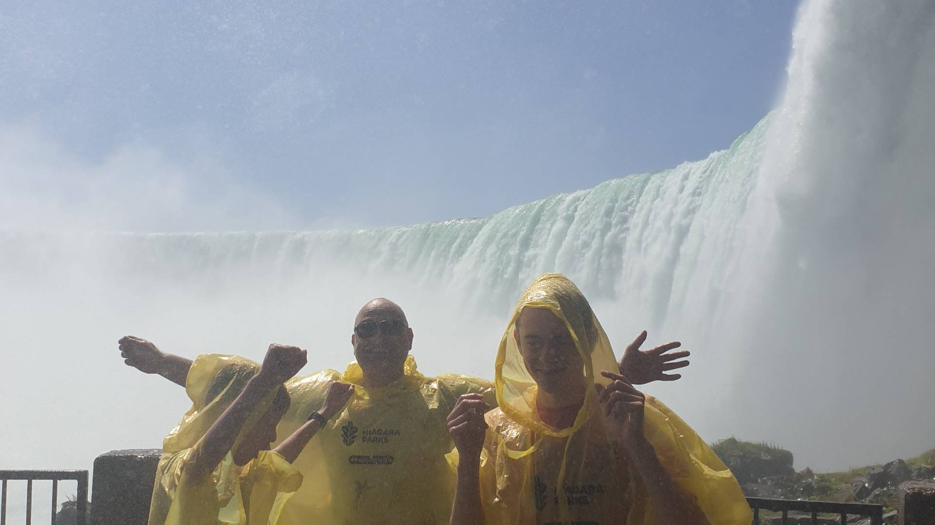 Behind the Falls, Niagara Falls
