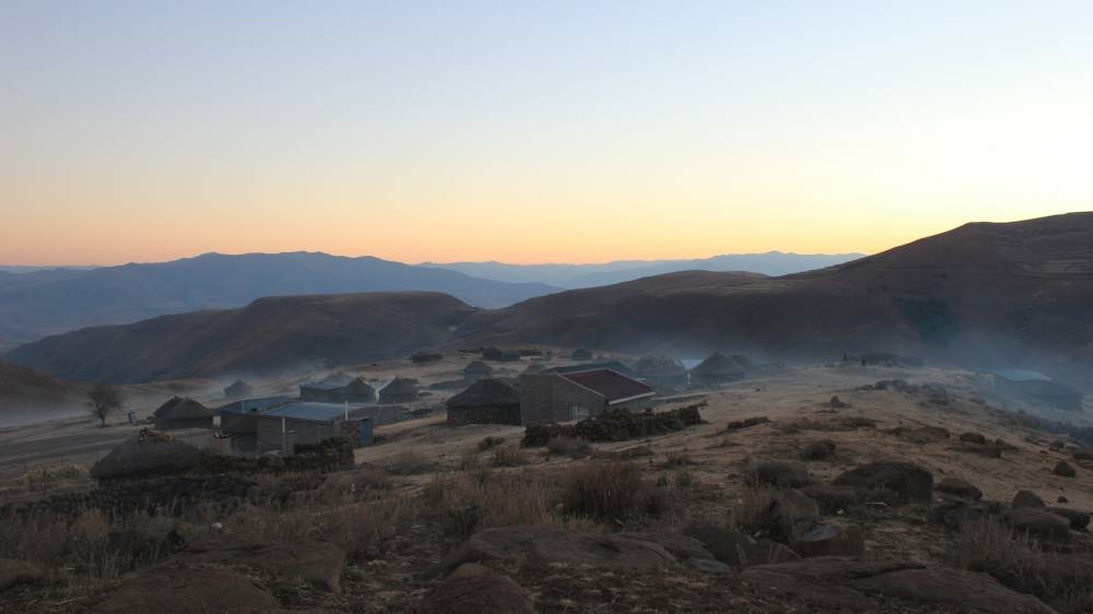 San Pass, Lesotho