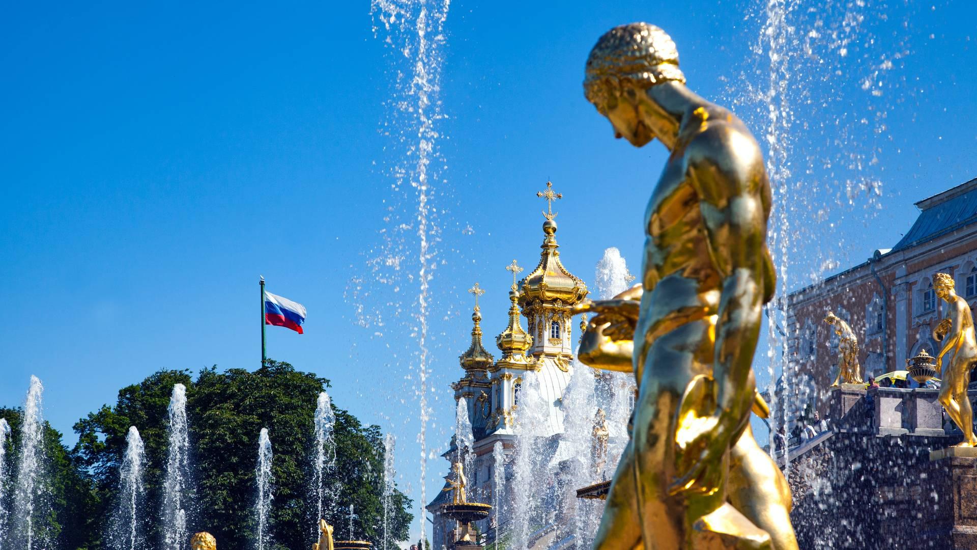 Peterhof, nabij St. Petersburg