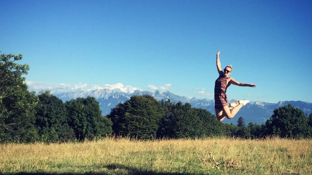 Reisspecialist Suzanne in Zwitserland