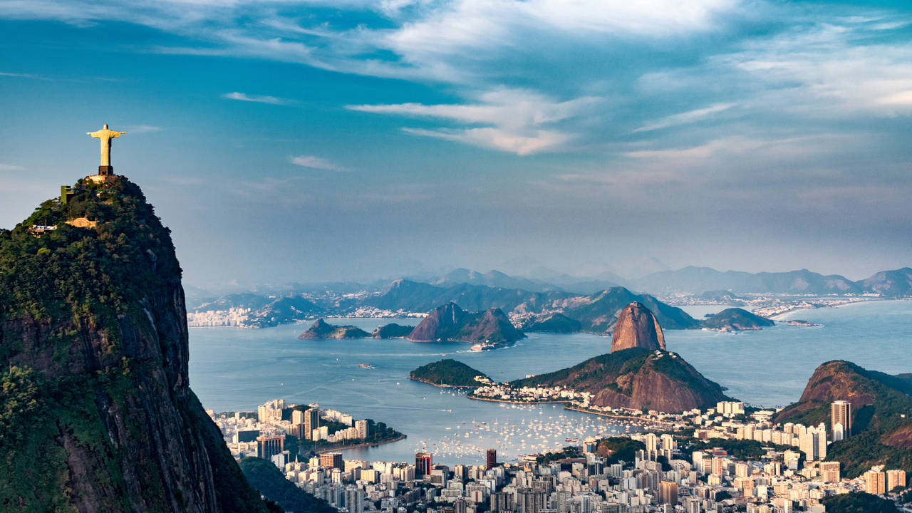 Uitzicht op Rio de Janeiro