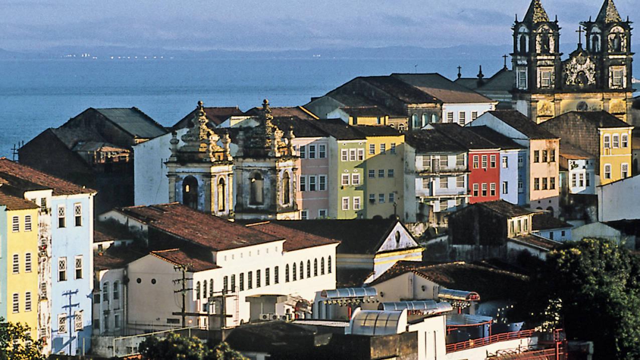 Pelourinho wijk in Salvador da Bahia