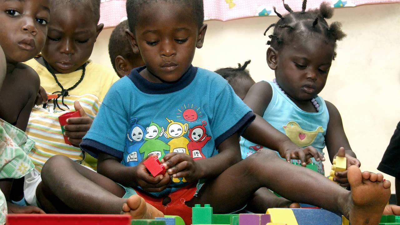 Kinderen bij Danpaati
