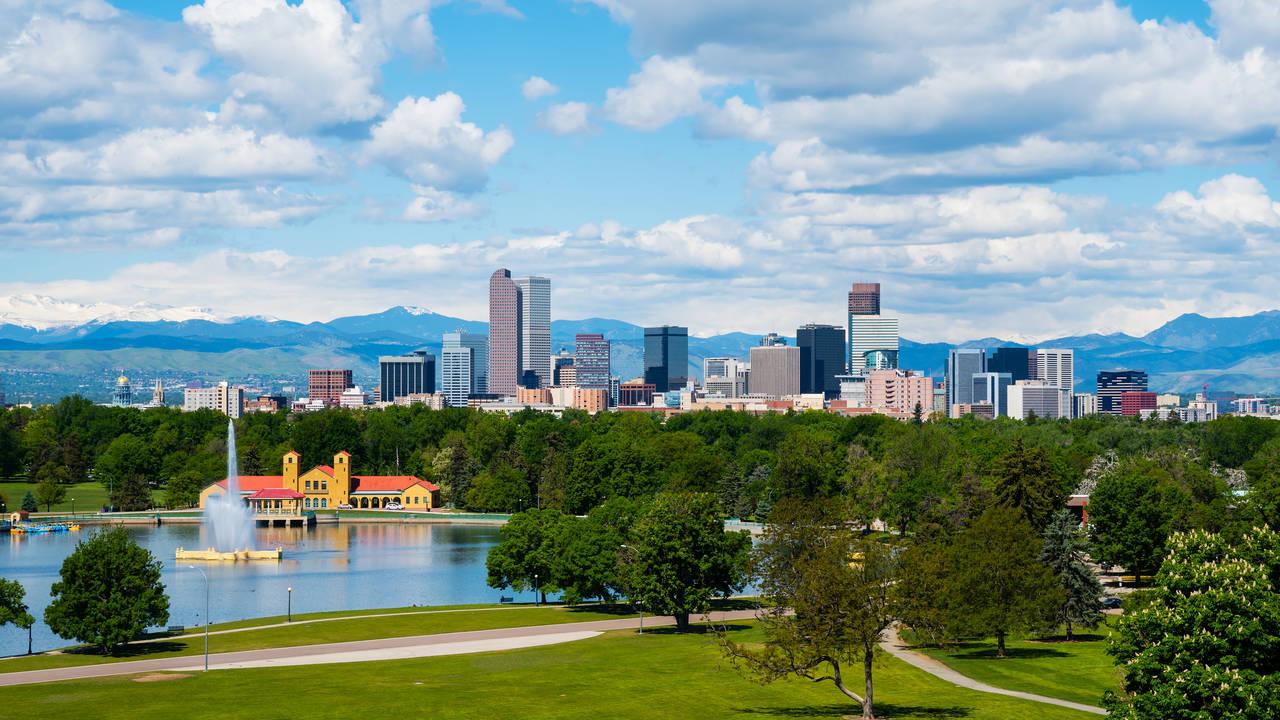 Skyline van Denver