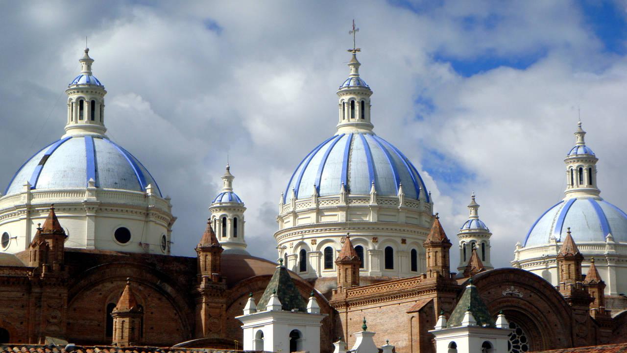 Koepels van de kathedraal, Cuenca
