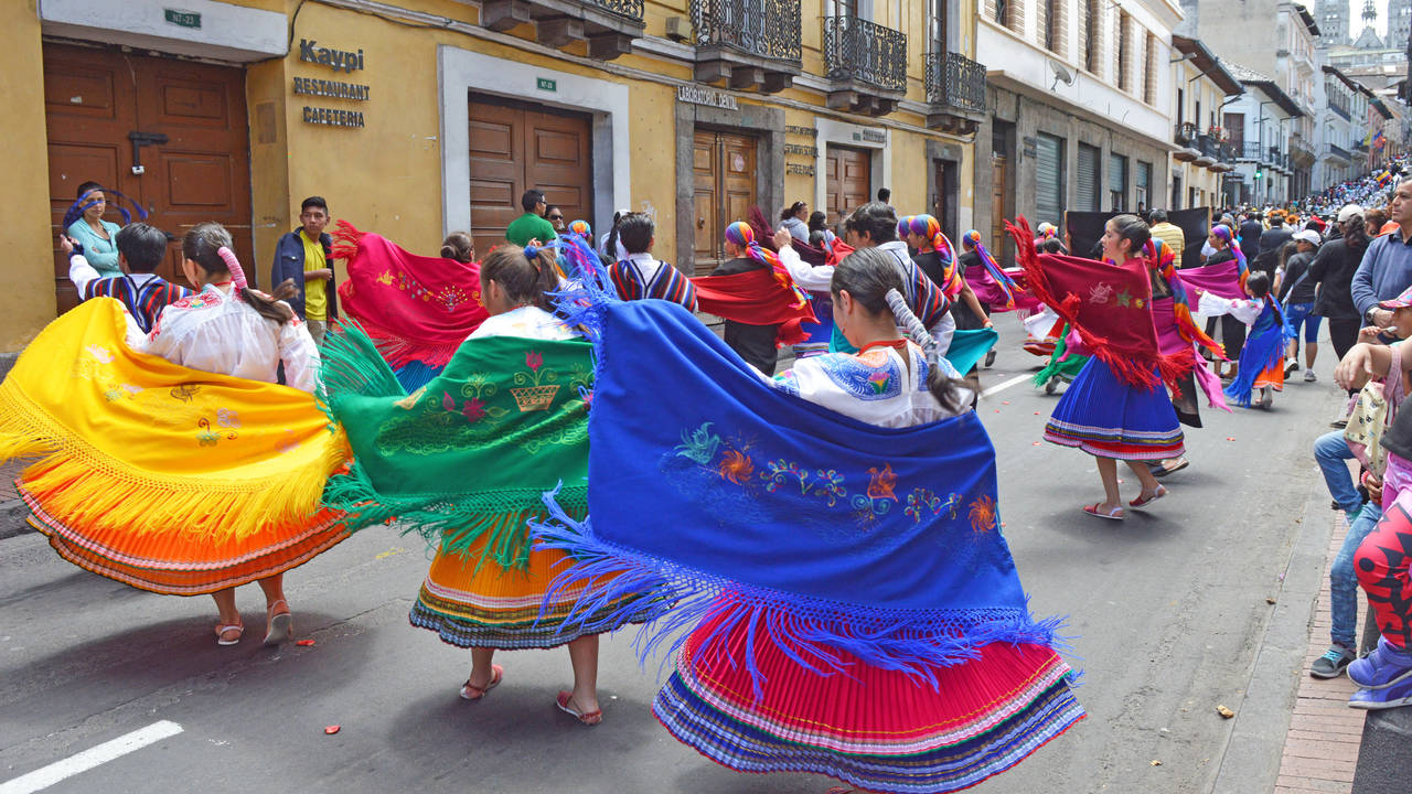 Festival in Quito