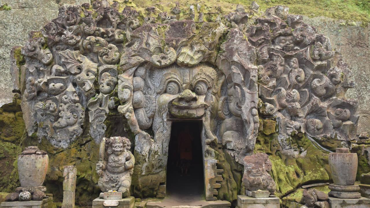 Goa Gajah tempel op Bali
