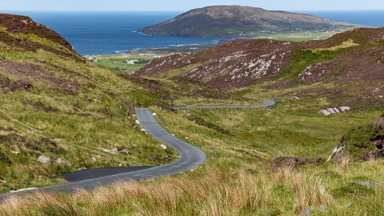 Weg naar Donegal