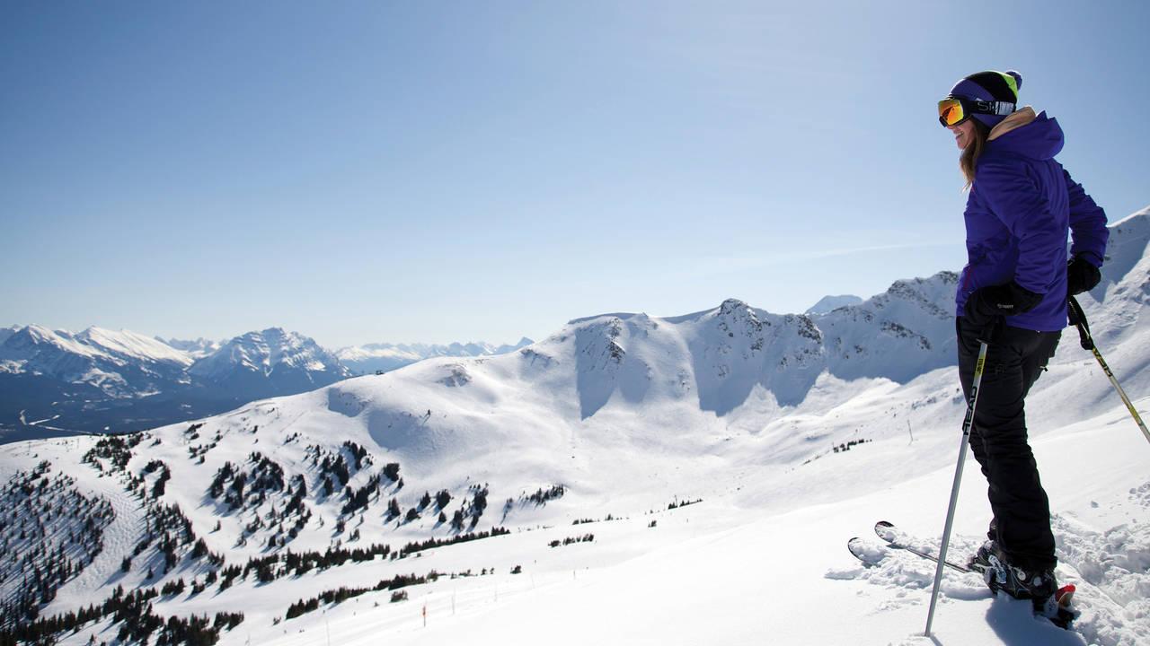 Skiën in Jasper