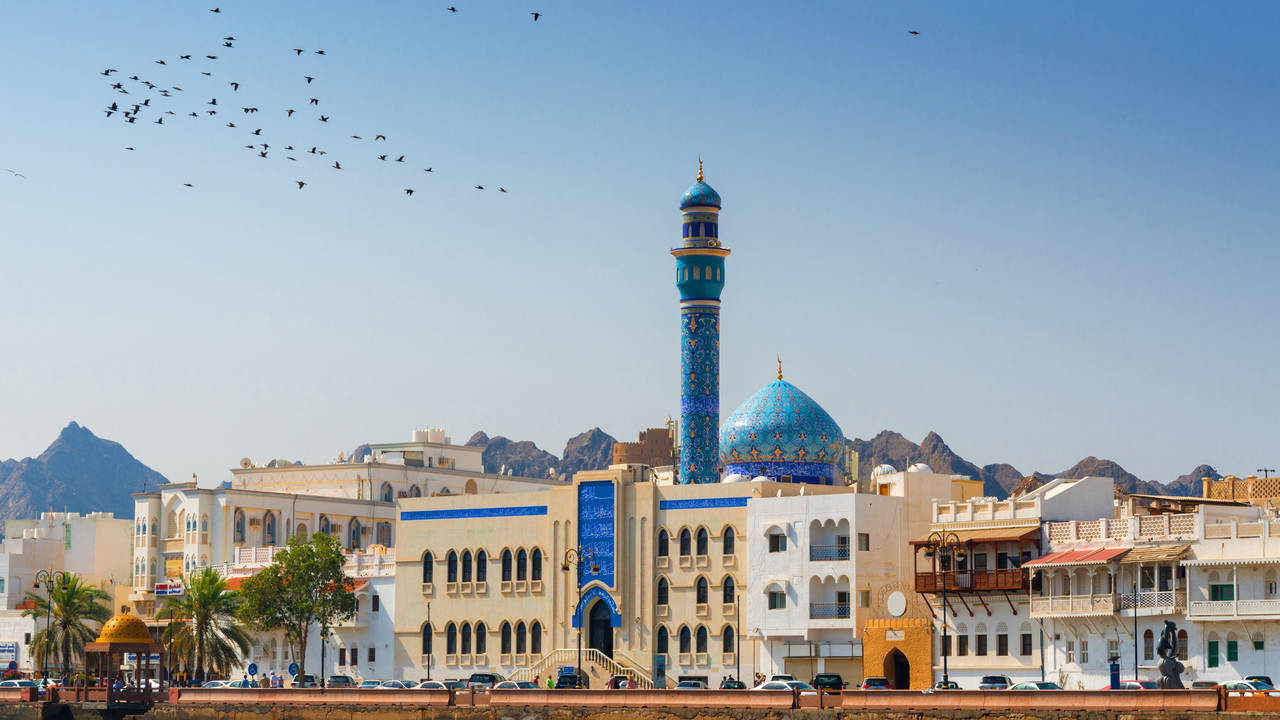 Moskee, Muscat